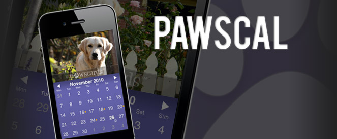 PawsCal: iPhone Application