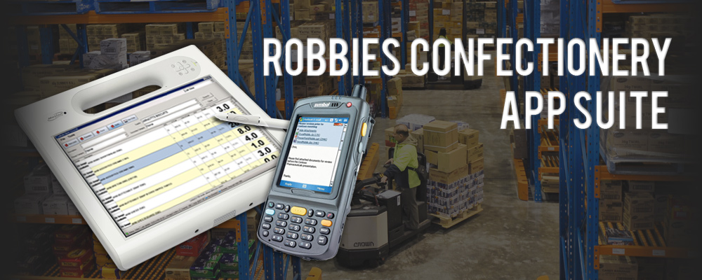 Robbies Confectionery: Mobile Sales Application