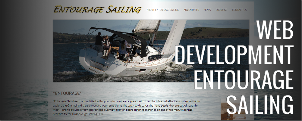 Entourage Website: Web Development