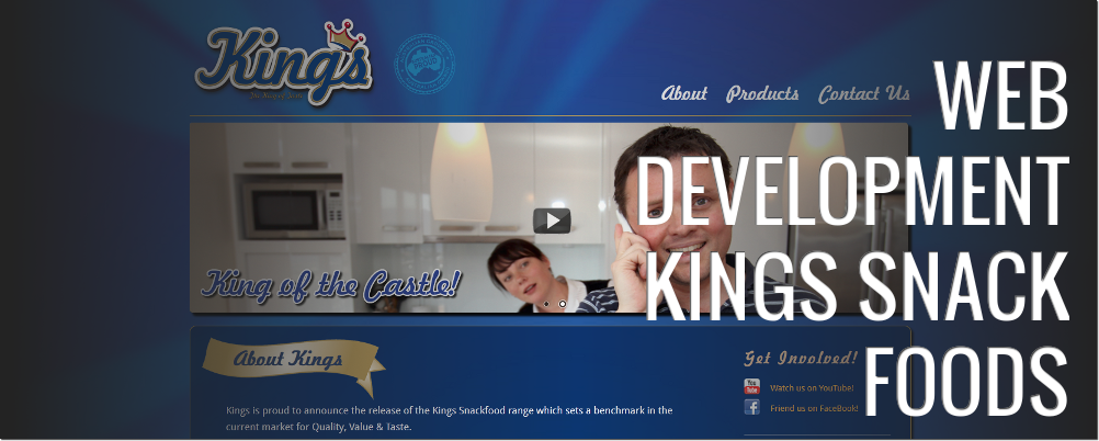 Kings Snack Foods: Web Development
